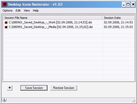 Desktop Icons Restorator | funk eu   hey, it's just me
